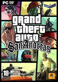 GTA SAN ANDREAS COVER PICTURE