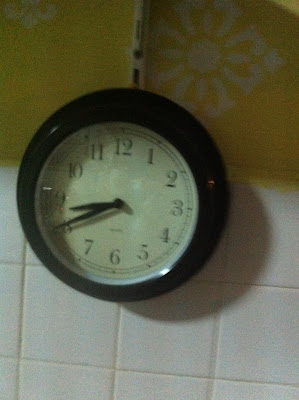 Time I finished cooking