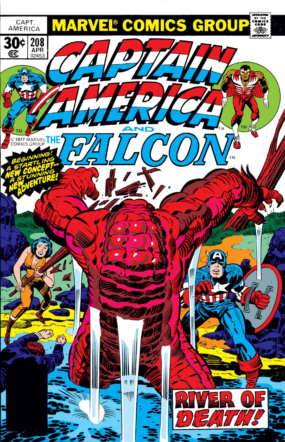 Captain America (1968) Issue #208 #122 - English 1