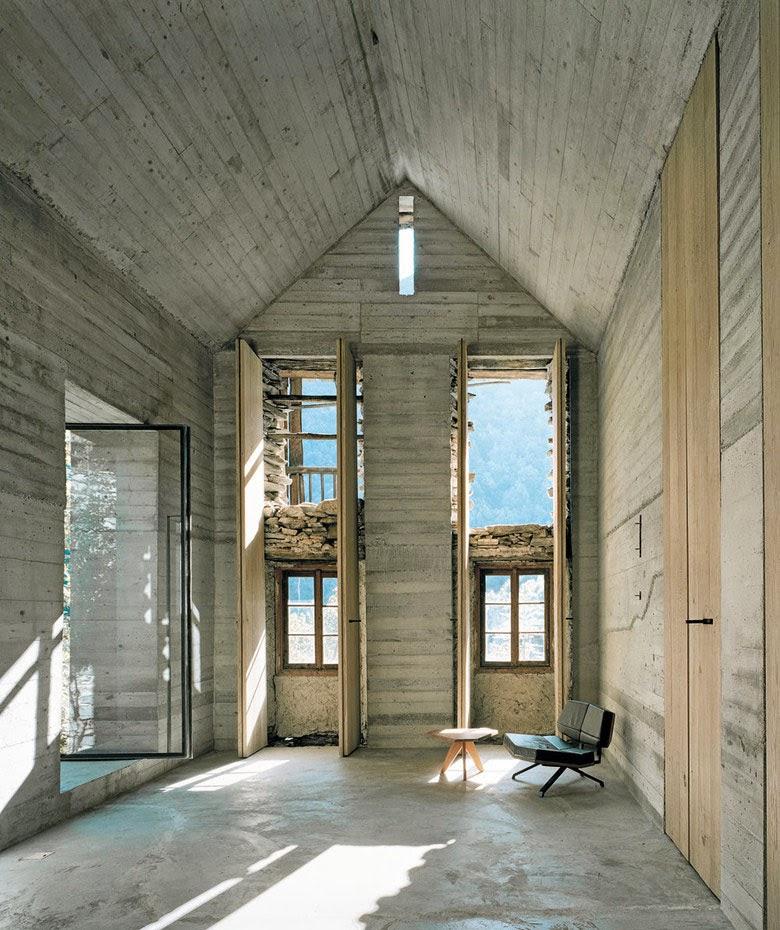 Simplicity love summer house in linescio switzerland for K architecture geneve