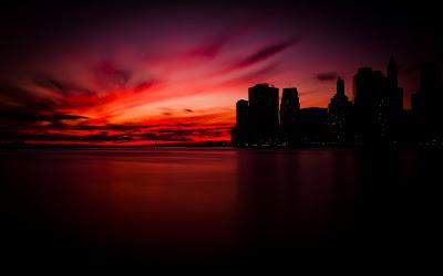 Amanecer en Manhattan, Nueva York, USA. 1920x1200px