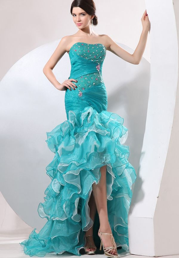 high low prom dresses for parties