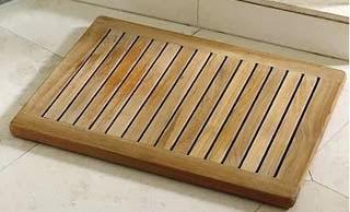 Imagem tapete box de banheiro rústico