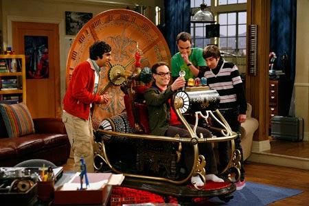 Big Bang Theory La Máquina del Tiempo