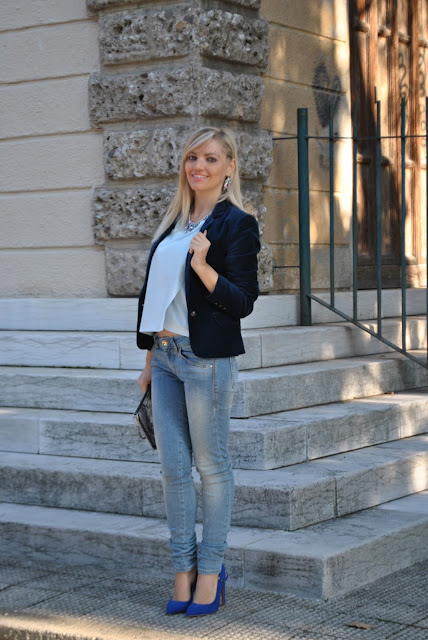 outfit jeans skinny come abbinare i jeans skinny how to wear skinny jeans how to combine skinny jeans jeans e tacchi come abbinare jeans e tacchi abbinamenti jeans e tacchi jeans and heels how to wear jeans and heels how to combine jeans and heels mariafelicia magno fashion blogger color block by felym fashion bloggers italy fashion blogger italiane blogger italiane di moda blogger italiane fashion blogger bergamo fashion blogger milano outfit novembre 2015 outfit autunnali fall outfit