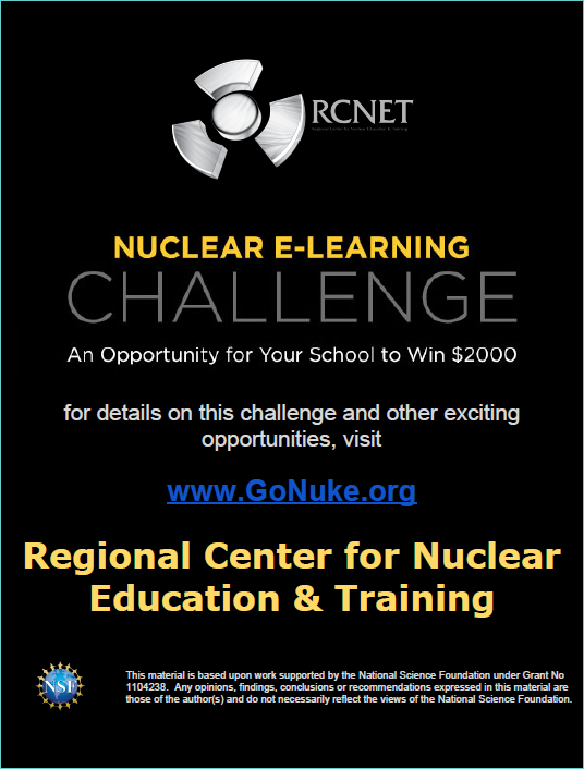 Nuclear E-Learning Challenge
