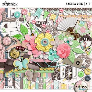Sakura 2015  Collection by  Akizo Designs