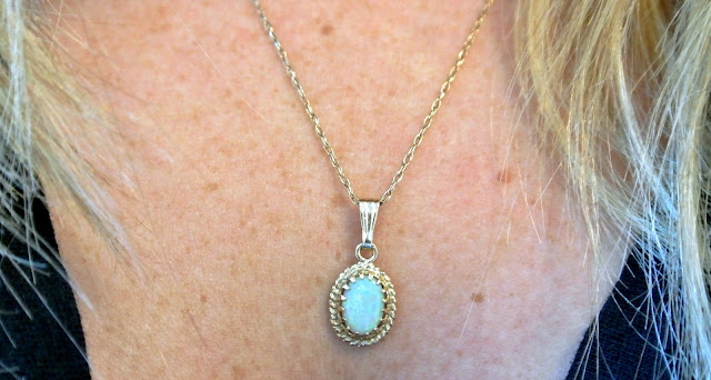 Opal Necklace Like So Pretty www.likesopretty.com