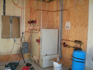 Steffes boiler, ely mn, custom home by John  Huisman