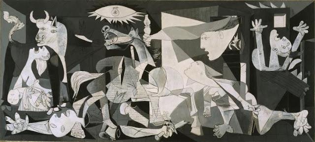 """""""75 años del GUERNICA de Pablo Picasso"""" - texto de Marc Montijano Cañellas - dos vídeos sobre el cuadro - en los mensajes está el documental: """"Guernica, pintura de guerra"""", del año 2007 GUERNICA"""