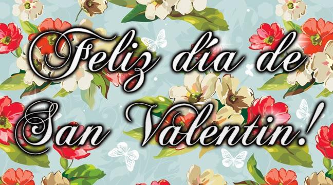 Feliz día de San Valentin