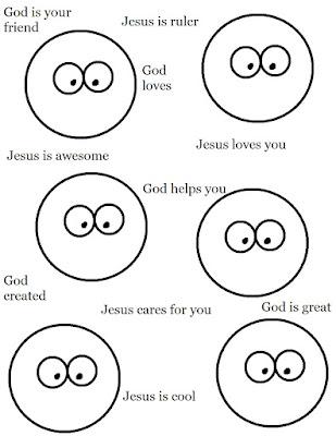 Word Jesus Coloring Page