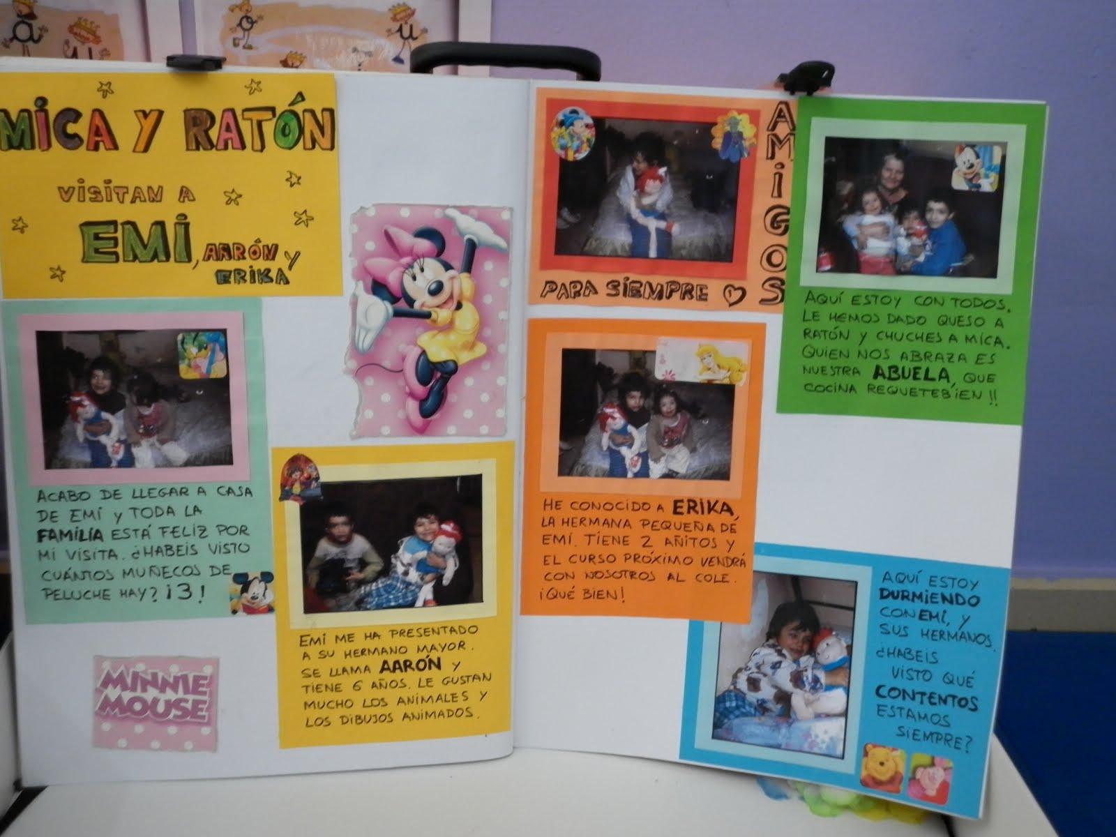 Maestra de infantil libro viajero - Ideas libro viajero infantil ...