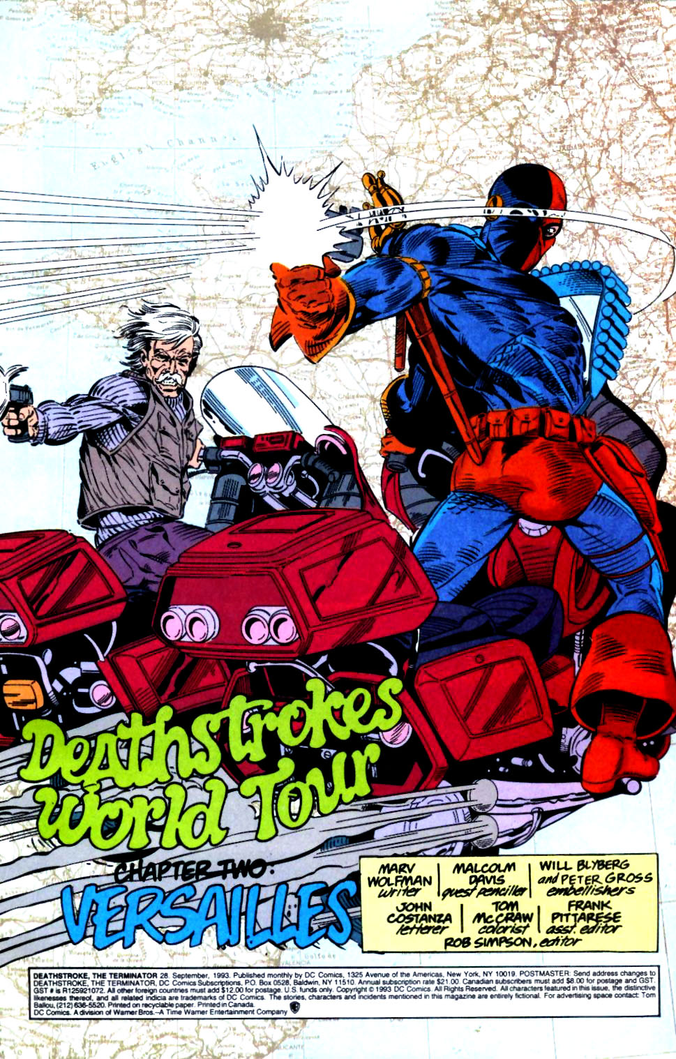 Deathstroke (1991) Issue #28 #33 - English 2