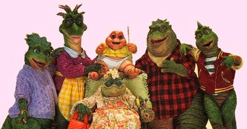 'A Família Dinossauro' - Anos 90