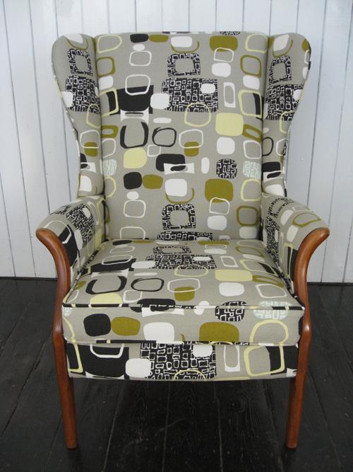 mick sheridan upholstery 1950 s festival armchair