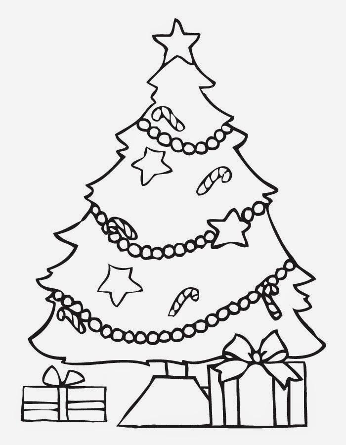 Arboles de navidad para colorear dibujos para ni os - Dibujo de navidad para ninos ...