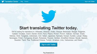 Twitter inclúe o galego entre as linguas ás que se traducirá