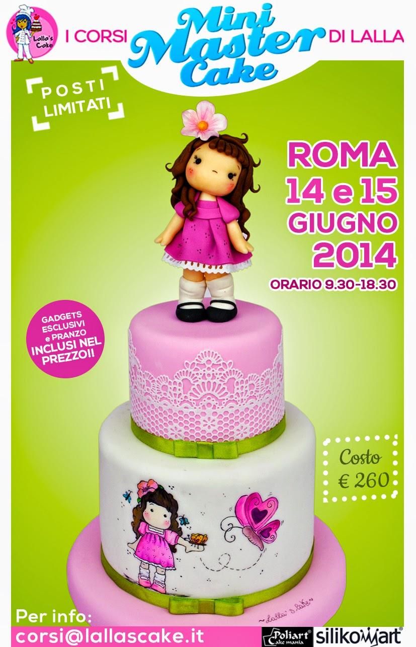 Corsi Per Cake Design Roma : Nuove date corsi di cake design a Roma Lalla s Cake ...