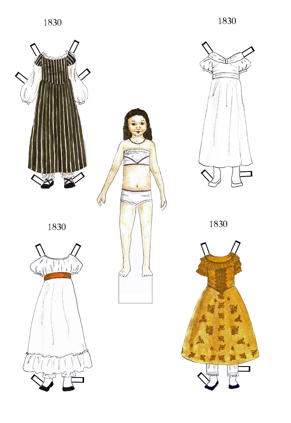 paper doll designs Download and print out these paper doll make your own printable paper dolls, clothes, and accessories here are almost two dozen fun dress designs you can.