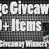 Huge Giveaway + Last Giveaway Winners