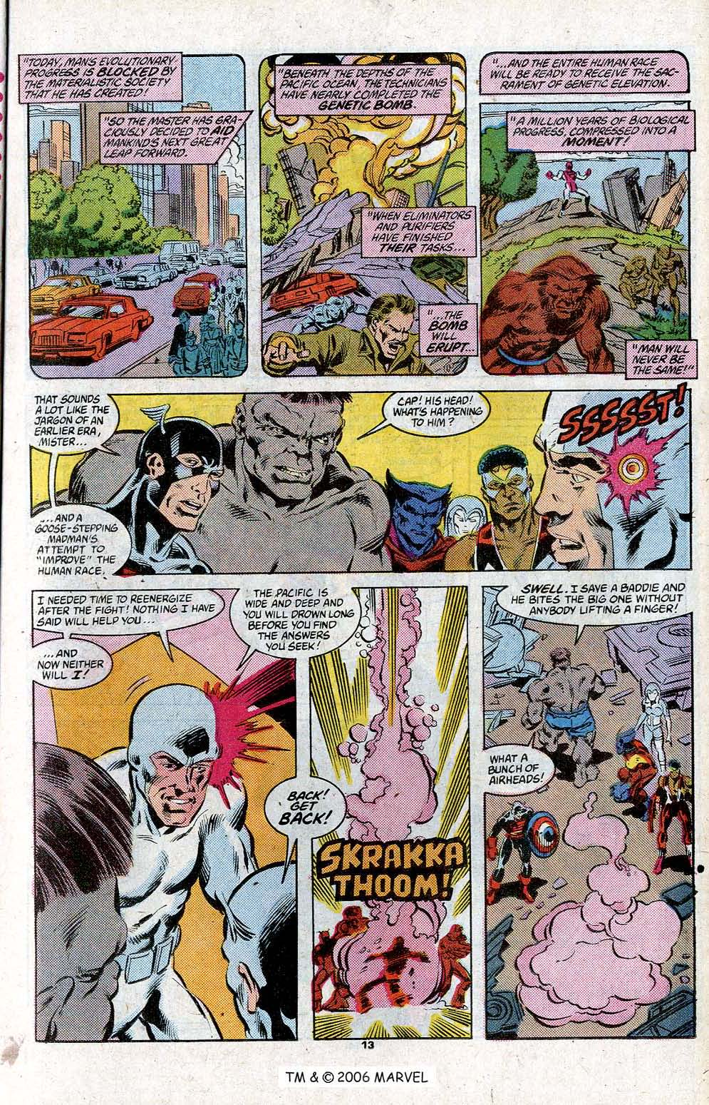 Captain America (1968) Issue #348c #280 - English 15
