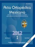 Acta Ortopédica Mexicana