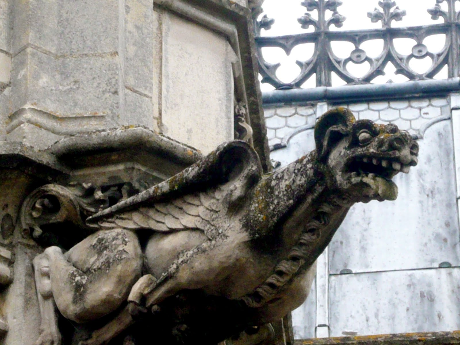 The Grotesque When I First Studied Gothic Architecture