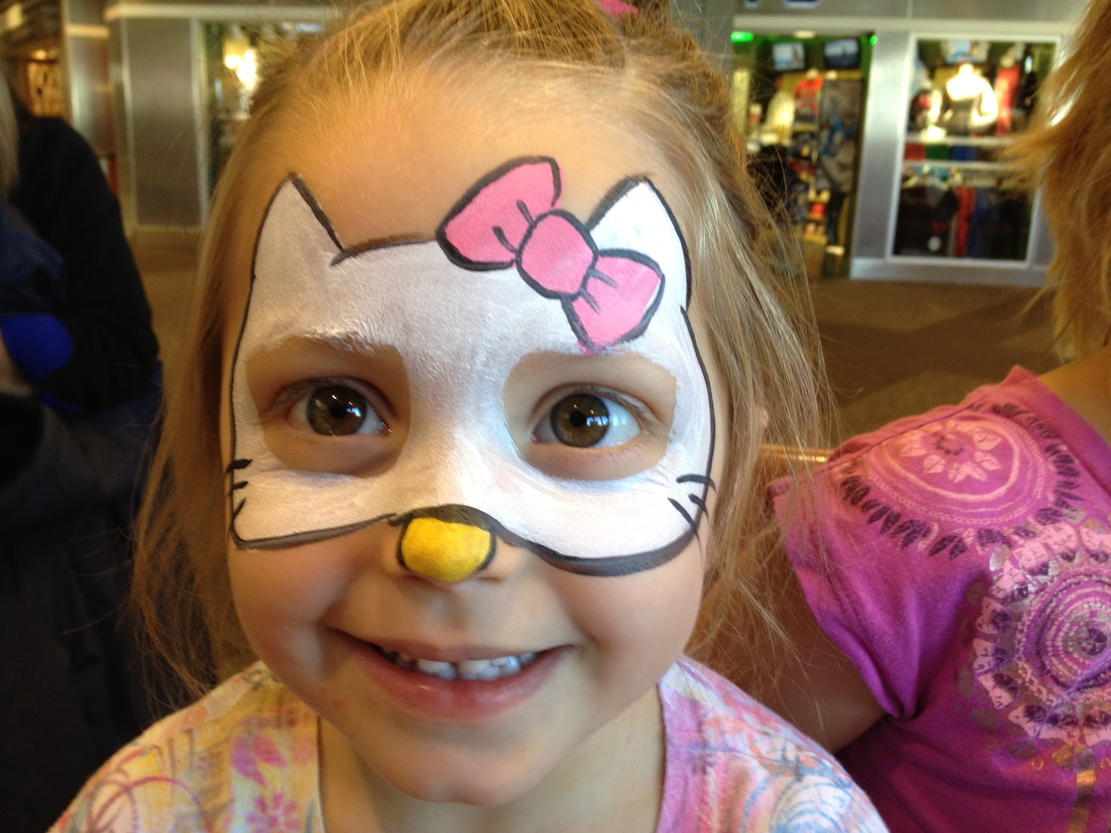 Easy Face Painting Hello Kitty Images