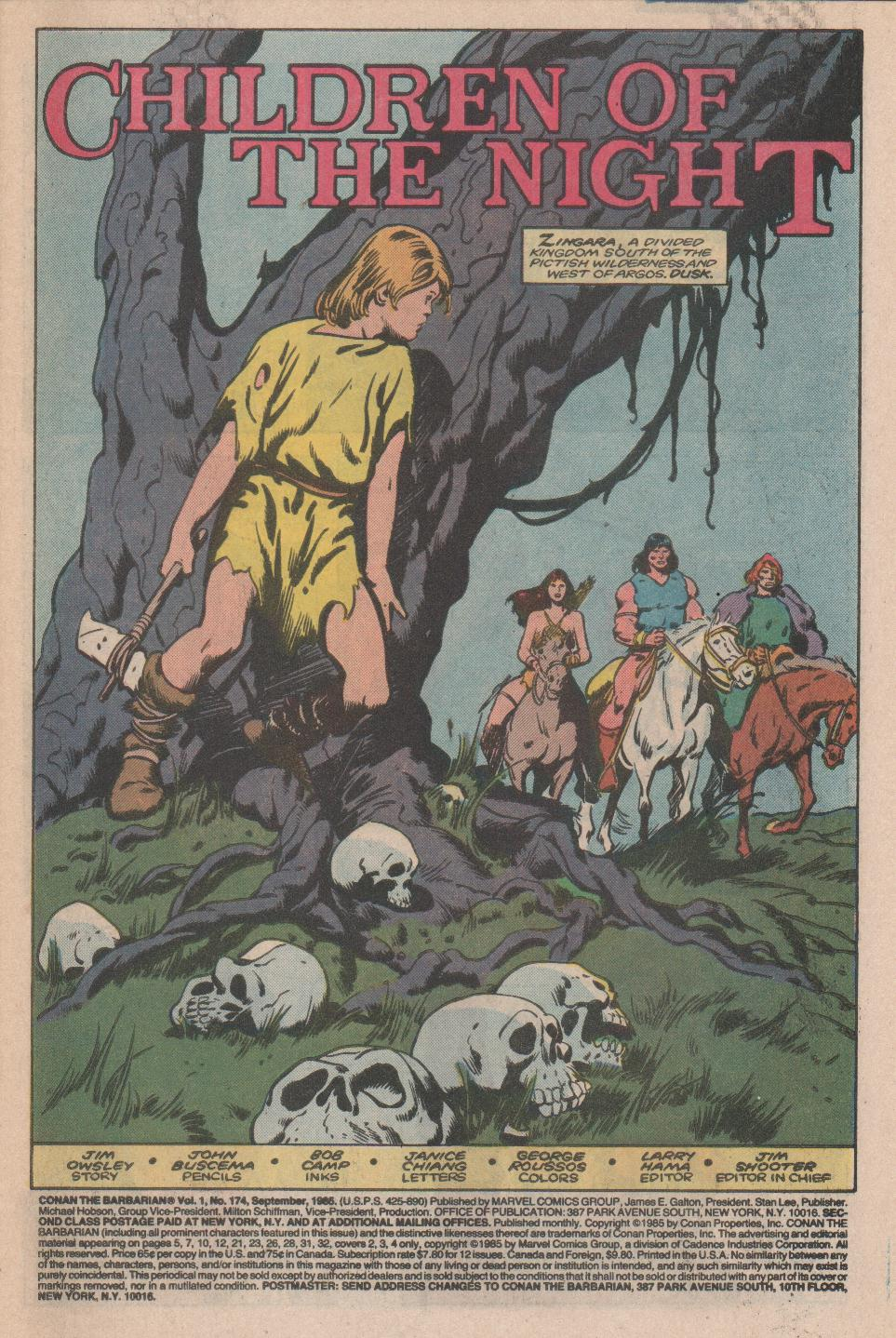 Conan the Barbarian (1970) Issue #174 #186 - English 2