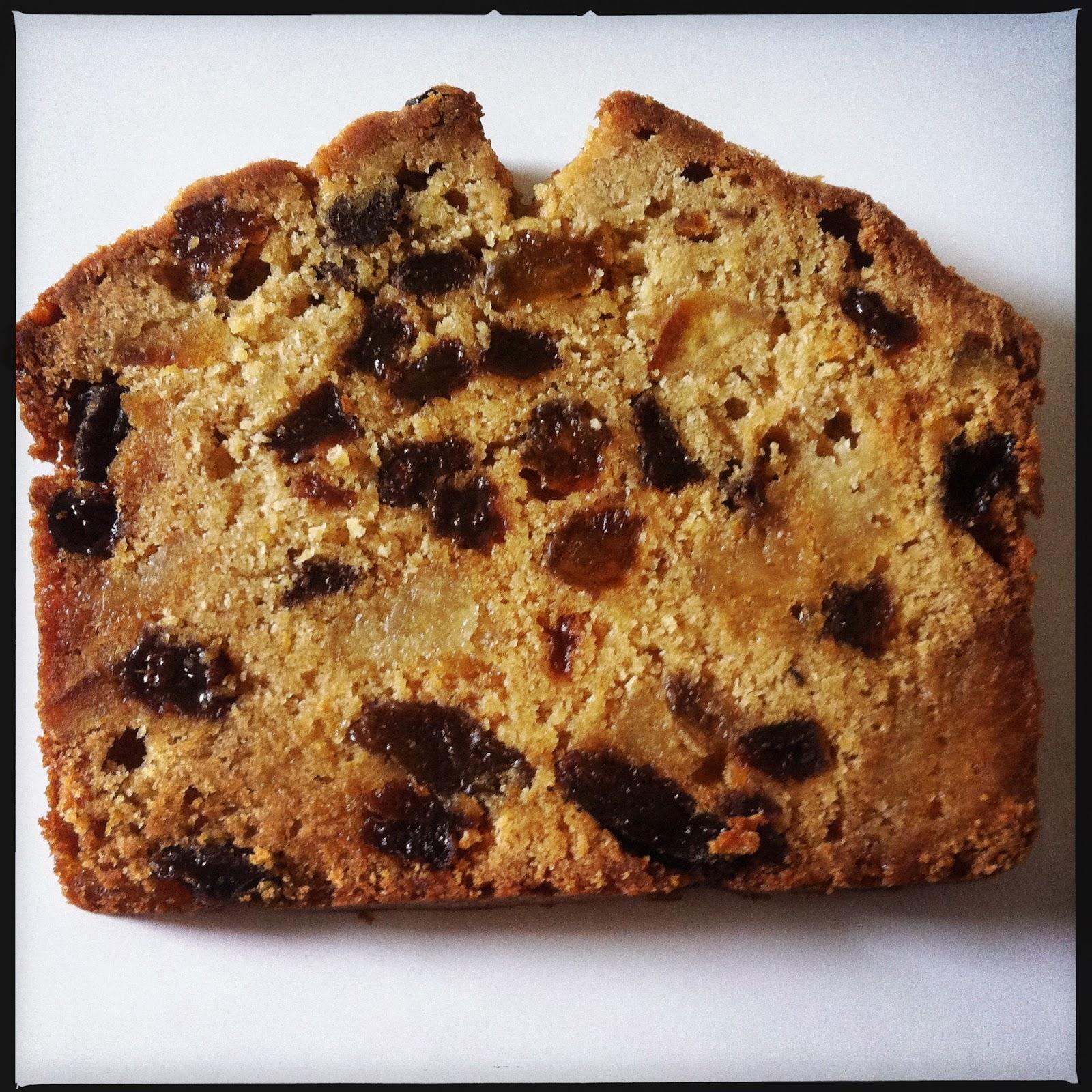 Recipe Light Fruit Cake Loaf Tin