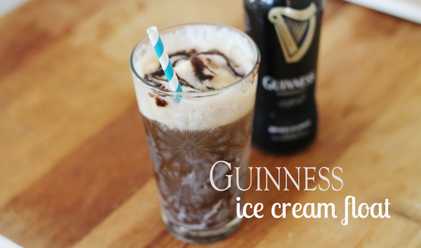 Acute Designs: guinness ice cream float