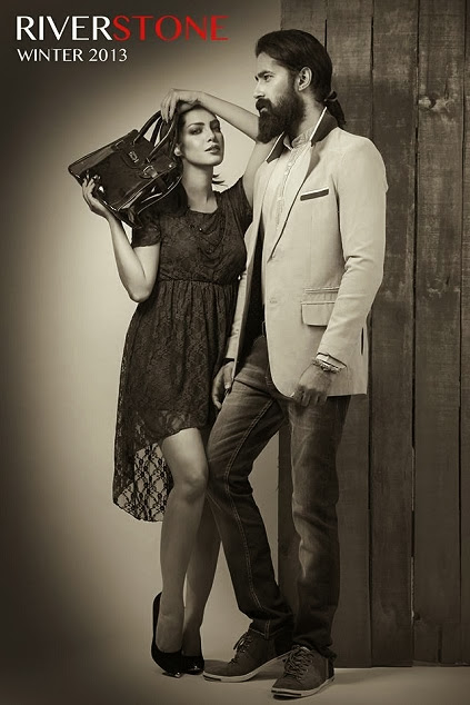 Riverstone Men & Women Wear Stylish Winter Dresses Collection 2013-14