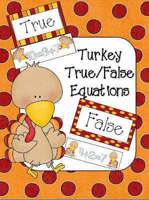 http://www.teacherspayteachers.com/Product/Turkey-TrueFalse-Equations-981331