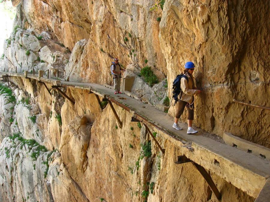 El Caminito Del Rey, İspanya