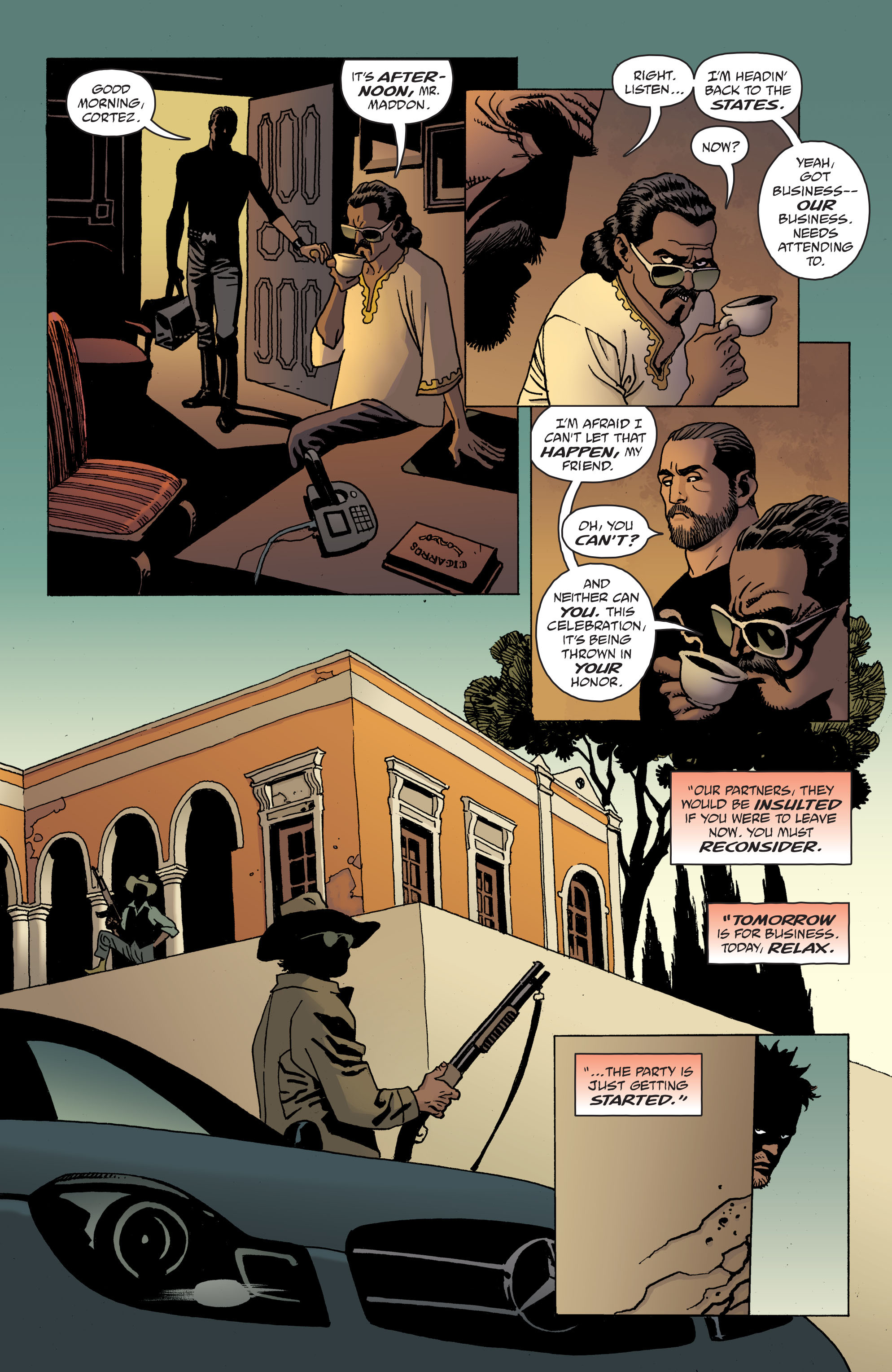 100 Bullets: Brother Lono Full Page 170