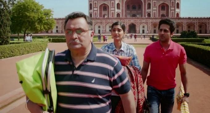 """Ayushmann khurrana , Sonam Kapoor and Rishi Kapoor From Film """"Bewakoofiyaan"""""""