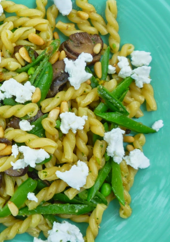 For Love of the Table: Spring Pasta with Sugar Snap Peas ...