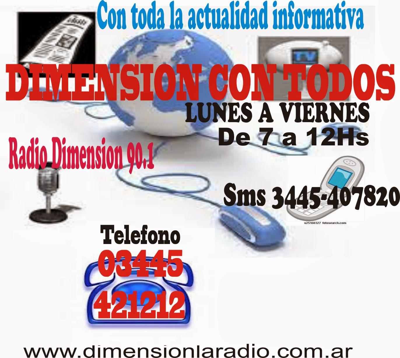 """""""DIMENSION CON TODOS""""con FERNANDO GERVASONI"""