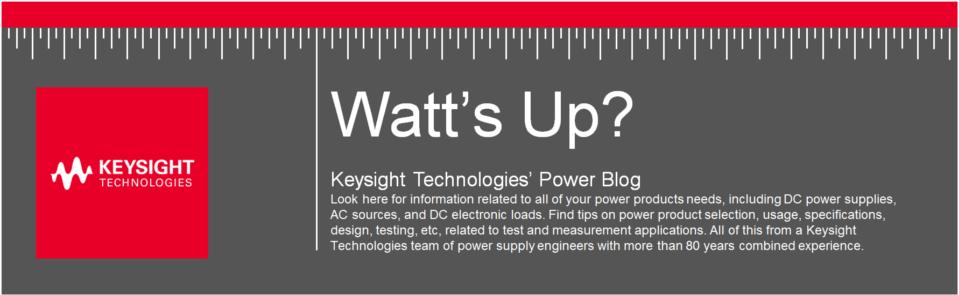 Watt's Up?
