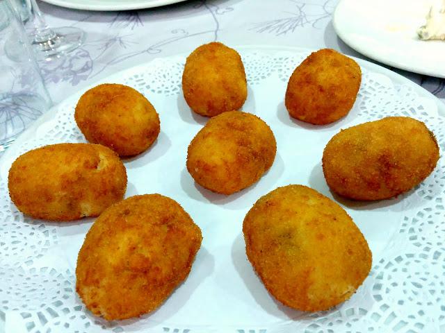 Croquetas en Restaurante la Montaña Madrid