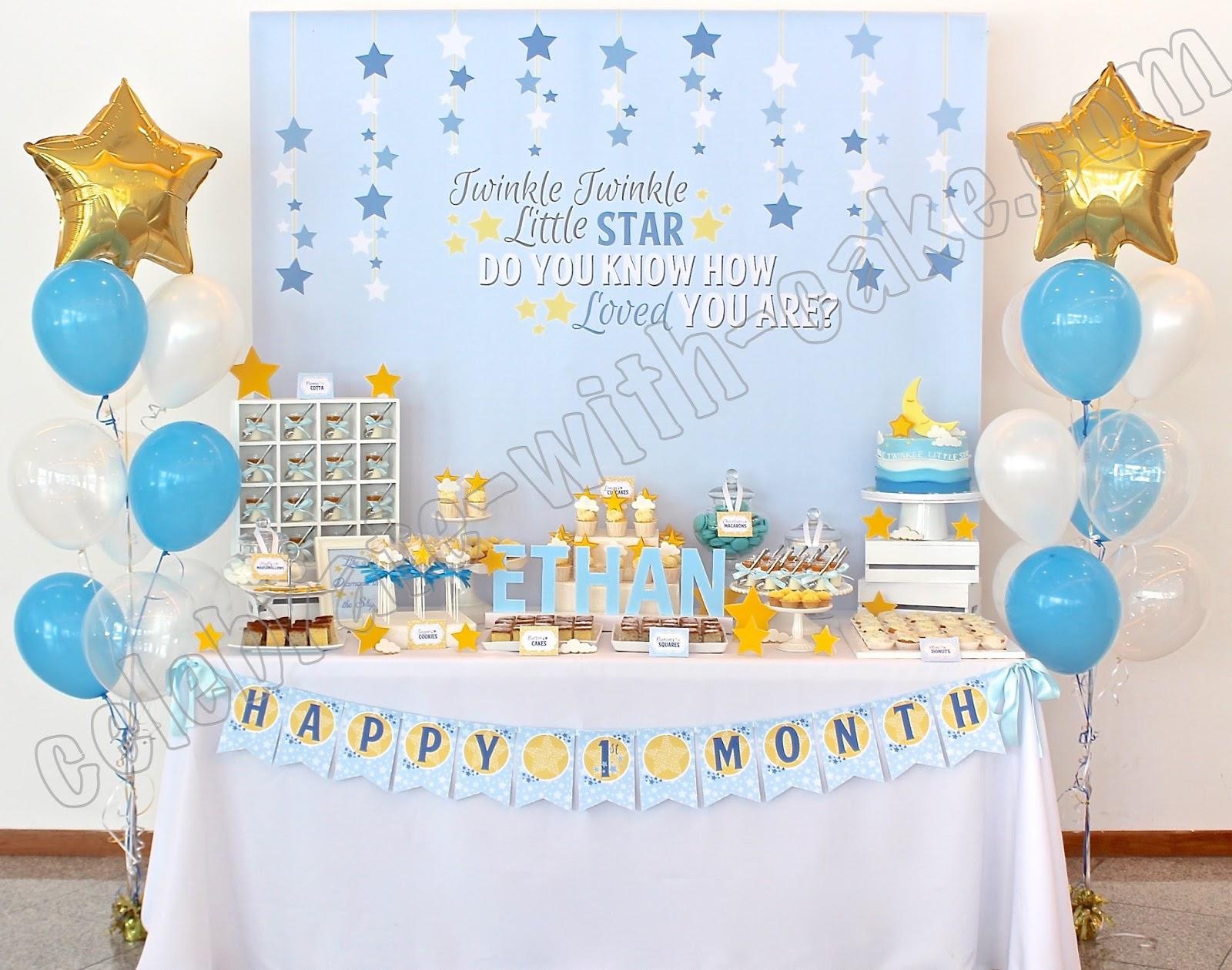 Celebrate With Cake Twinkle Twinkle Little Star Dessert