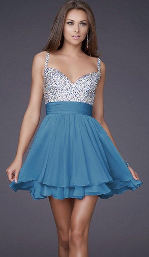 Vestidos corte princesa cortos 2014