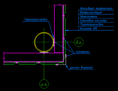 фасадная наборная панель