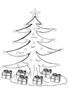 Árvores de Natal para Imprimir