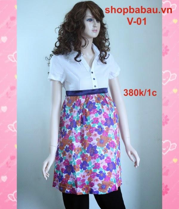 Váy bà bầu V-01