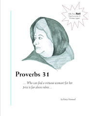 Free Bible Study:  Oh No!  Not That Proverbs 31 Woman Again!