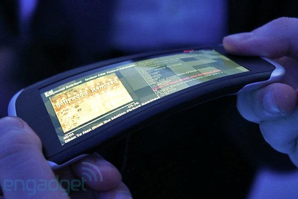 Foto del Nokia Kinetic Labs dispositivos flexibles