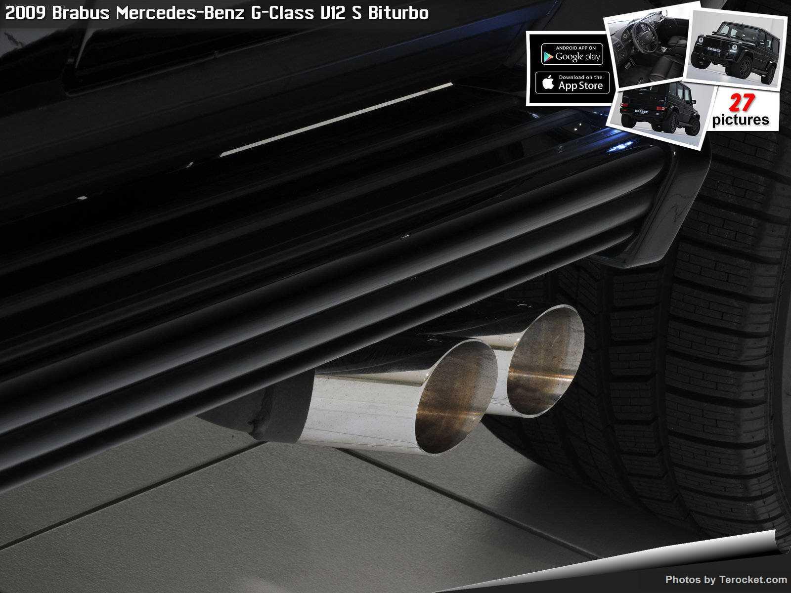 Hình ảnh xe ô tô Brabus Mercedes-Benz G-Class V12 S Biturbo 2009 & nội ngoại thất