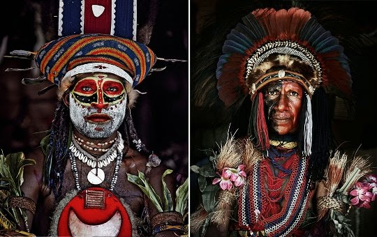 Goroka people, Indonesia y Papúa Nueva Guinea